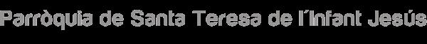 Santa Teresa de l'Infant Jesús Logo